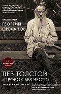 Протоиерей Георгий Ореханов - Лев Толстой. «Пророк без чести»: хроника катастрофы