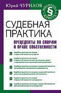 Юрий Чурилов -Судебная практика. Прецеденты по спорам о праве собственности