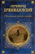 Сигизмунд Кржижановский -История пророка