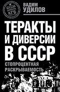 Вадим Удилов -Теракты и диверсии в СССР. Стопроцентная раскрываемость