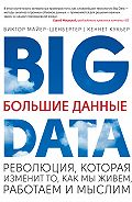 Виктор Майер-Шенбергер -Большие данные. Революция, которая изменит то, как мы живем, работаем и мыслим