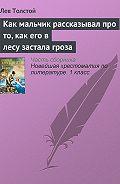 Лев Толстой -Как мальчик рассказывал про то, как его в лесу застала гроза
