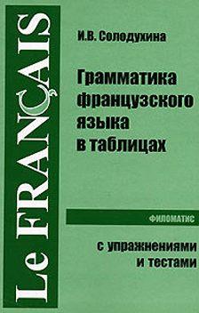 Ирина Солодухина - Грамматика французского языка в таблицах