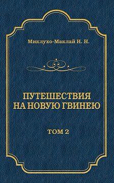 Николай Миклухо-Маклай - Путешествия на Новую Гвинею (Дневники путешествий 1872—1875). Том 1