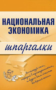 Антон Кошелев - Национальная экономика