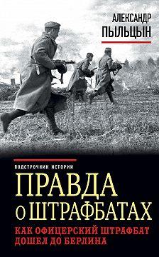 Александр Пыльцын - Правда о штрафбатах. Как офицерский штрафбат дошел до Берлина