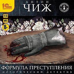 Антон Чиж - Формула преступления