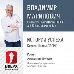 Владимир Маринович - Александр Бойков. Основные факторы успеха компании Timeweb