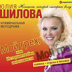 Юлия Шилова - Мой грех или история любви и ненависти