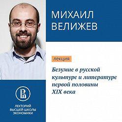 Михаил Велижев - Безумие в русской культуре и литературе первой половины XIX века