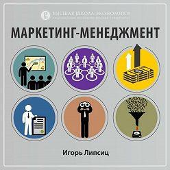 Игорь Липсиц - 1.4. Маркетинговые ресурсы и активы