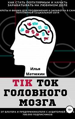 Илья Матюхин - TikTok головного мозга. Секреты и фишки для продвижения и заработка в самой популярной социальной сети