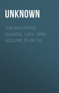 Unknown - The Philippine Islands, 1493-1898. Volume 19 of 55
