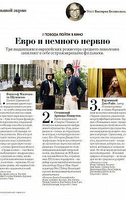 Виктория Белопольская - Большой экран. Европейские премьеры у нас