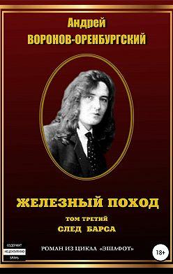 Андрей Воронов-Оренбургский - Железный поход. Том третий. След барса