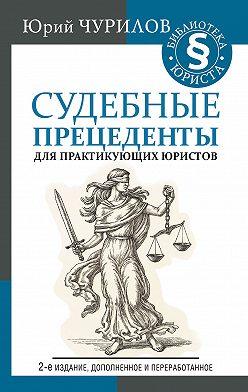 Юрий Чурилов - Судебные прецеденты для практикующих юристов