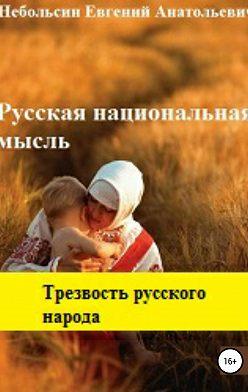 Евгений Небольсин - Русская национальная мысль. Трезвость русского народа