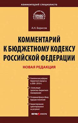 Александр Борисов - Комментарий к Бюджетному кодексу Российской Федерации