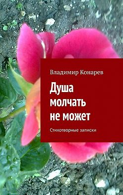 Владимир Конарев - Душа молчать неможет. Стихотворные записки