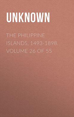 Unknown - The Philippine Islands, 1493-1898. Volume 26 of 55