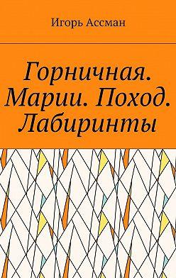 Игорь Ассман - Горничная. Марии. Поход. Лабиринты