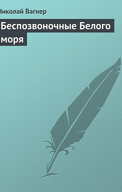 Николай Вагнер - Беспозвоночные Белого моря