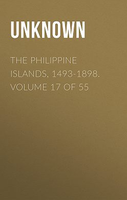 Unknown - The Philippine Islands, 1493-1898. Volume 17 of 55
