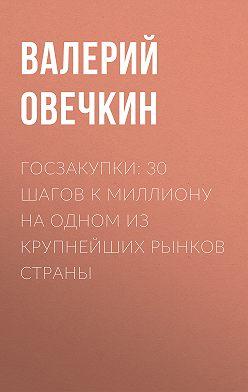 Валерий Овечкин - Госзакупки: 30 шагов к миллиону на одном из крупнейших рынков страны