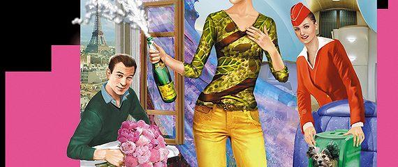 Самовар с шампанским