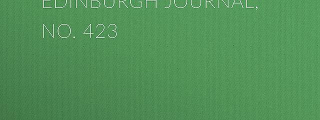 Chambers's Edinburgh Journal, No. 423