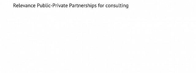 Relevance of Public-Private Partnerships for consulting services