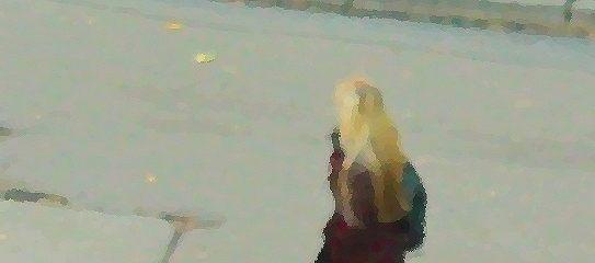 Девушка на веревке