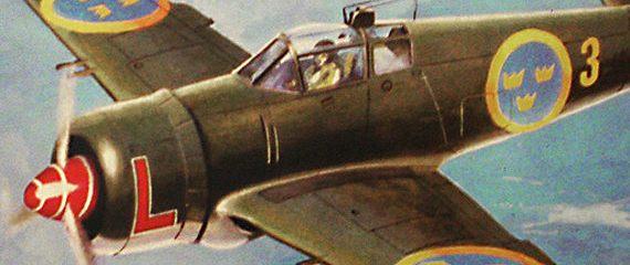 Крылья викингов: шведский истребитель J22