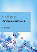 Евгений Шаталов -Загадки для малышей в стихах