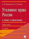Александр Бриллиантов, Яна Иванова - Уголовное право России в схемах и определениях. 2-е издание