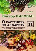 Виктор Пилован - О растениях по алфавиту. Книга одиннадцатая. Растения на К (клиантус – колокольчик)