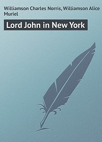 Charles Williamson -Lord John in New York