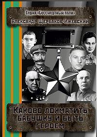 Александр Щербаков-Ижевский -Каково лохматить бабушку и быть героем. Серия «Бессмертный полк»