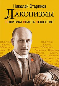Николай Стариков - Лаконизмы: Политика. Власть. Общество