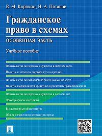 Виктор Корякин, Николай Потапов - Гражданское право в схемах. Особенная часть. Учебное пособие