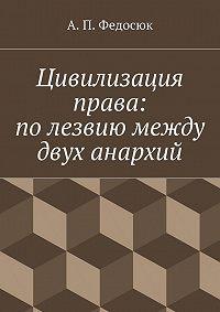 Александр Федосюк -Цивилизация права: полезвиюмежду двух анархий