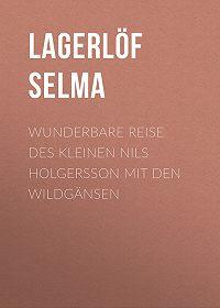 Selma Lagerlöf -Wunderbare Reise des kleinen Nils Holgersson mit den Wildgänsen