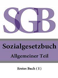 Deutschland -Sozialgesetzbuch (SGB) Erstes Buch (I) – Allgemeiner Teil