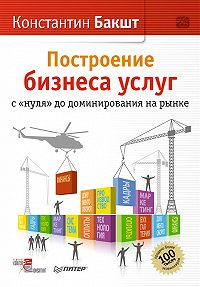 Константин Бакшт -Построение бизнеса услуг: с «нуля» до доминирования на рынке