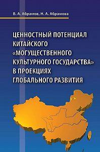 Наталья Абрамова -Ценностный потенциал китайского «могущественного культурного государства» в проекциях глобального развития