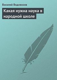 Василий Водовозов -Какая нужна наука в народной школе