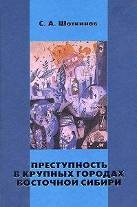 Сергей Шоткинов -Преступность в крупных городах Восточной Сибири