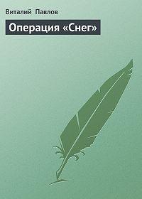 Виталий Павлов -Операция «Снег»