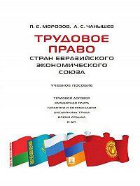 Александр Чанышев -Трудовое право стран Евразийского экономического союза. Учебное пособие