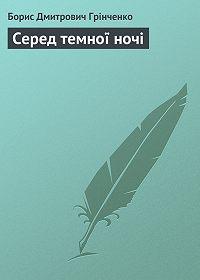 Борис Грінченко -Серед темної ночі